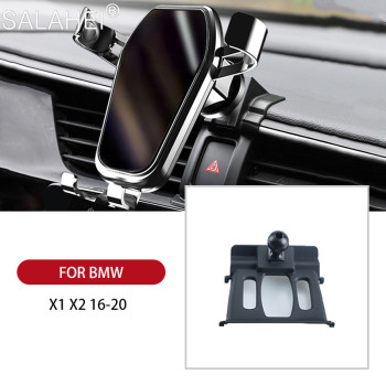 Car Phone Holder For BMW X1 X2 X3 X4 X5 X6 X7 G01 G02 F48 F39 Smartphone Bracket High Quality 360 Degree Rotation Stand Support image