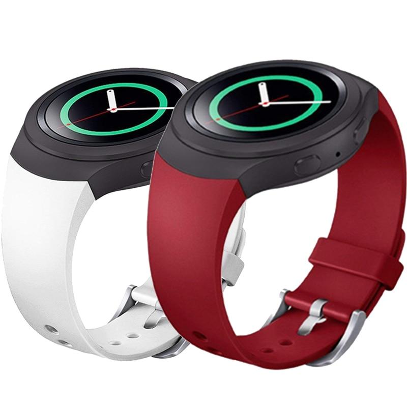 OSRUI Sport Strap For Samsung Galaxy Gear S2 Band R720 R730 Smart Watch Band Silicone Wrist Bracelet Correa Watchband Belt