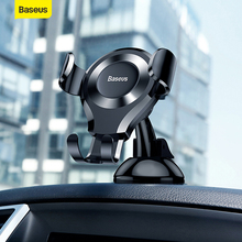 Baseus Gravity Car Phone Holder Mount Windshield Sucker Strong Suction Cup GPS For iPhone Xiaomi Samsung Car Mobile Phone Holder стоимость