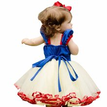 Kids Girl Princess Little Girls Dress compleanno Baby Summer Clothes Fantasia Carnival Dress Costume di Halloween