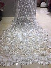 2020 son fransız nijeryalı dantel kumaş yüksek kalite tül afrika danteller kumaş düğün Dubai fransız tül dantel kumaş LH9030