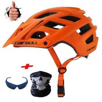 Capacete de trilxc para mountain bike, capacete masculino ultraleve com molde em inteiro para ciclismo, cruzado bmx 1