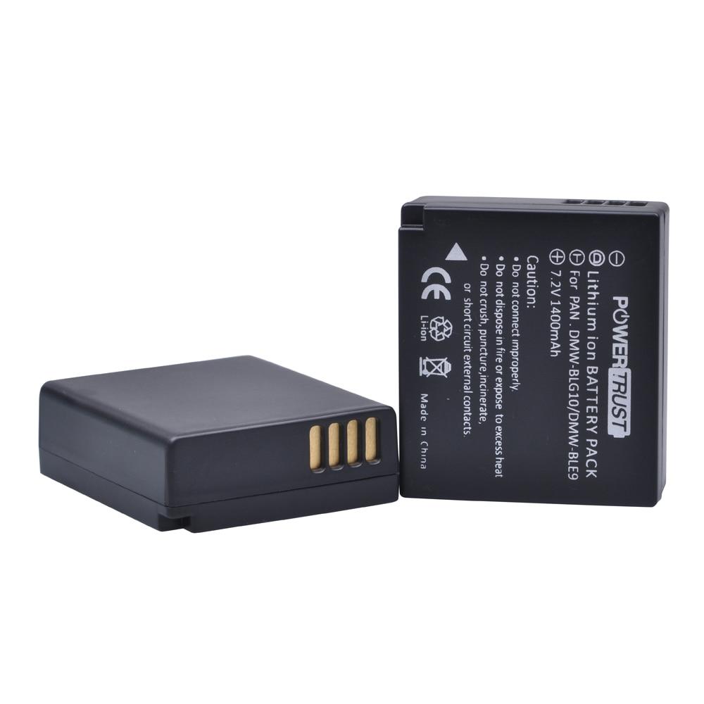 1025mAh DC-GX9 TZ202 DMC-GX7 65238 Battery Or LCD Charger Panasonic DMW-BLG10