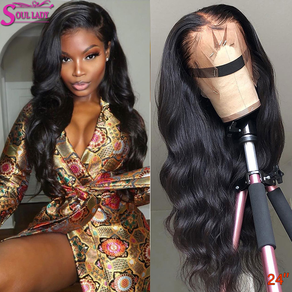 Transparent Lace Wig 13x6 13x4 Peruvian Body Wave Lace Front Human Hair Wigs Pre Plucked Bleached Knot 360 Lace Frontal Wigs