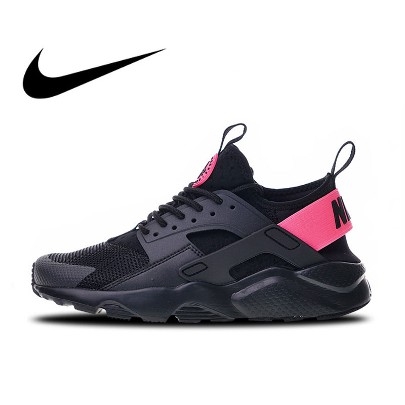 Original Authentic Nike Air Huarache Run Ultra 4 Men's Running Shoes Good Quality Breathable Sports Outdoor Sneakers 847568-003