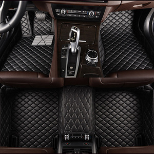 HLFNTF Custom car floor mats For Chrysler 300c 3D car-styling heavy duty all weather protection car accessorie carpet(China)