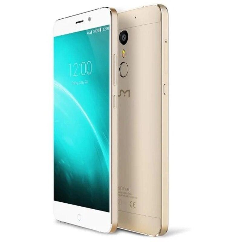 "UMI Super Smartphone 4GB RAM 32GB ROM 5.5"" Android 6.0 MTK6755 Octa Core 2.0GHz 4000mah Fingerprint 13.0MP 4G LTE Mobile Phone"