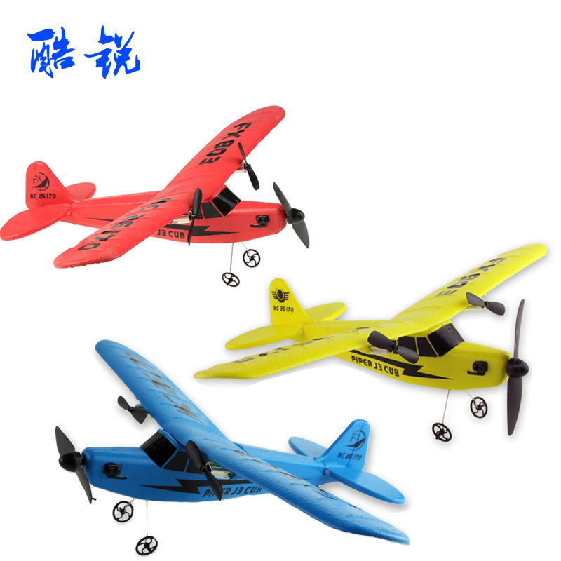 Children Hand-Tossed Foam Airplane 2.4G Telecontrolled Toy Aircraft EPP Material Remote Control Fx803 Glider