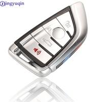jingyuqin 4B Remote Car Key Case Cover Fob For BMW X1 X3 X4 X5 X6 F15 F16 F48 G30 G38 525 540 730 740 1 2 5 7 Series 218i