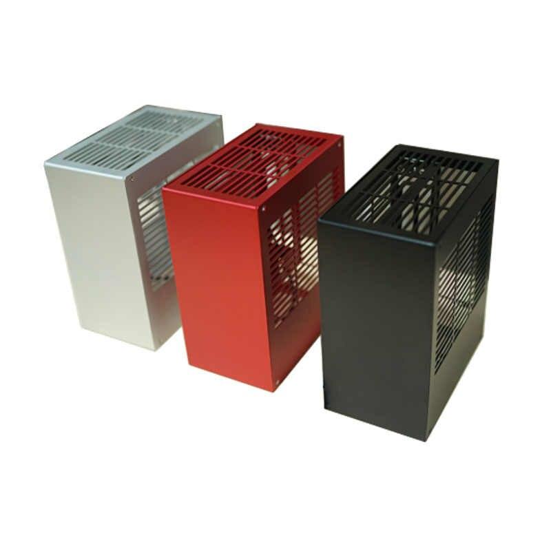 Coque d'ordinateur HTPC coffre-fort armoire ITX MINI cadre tout en aluminium pour carte graphique RTX 2070 1660 i3 i5 i7 8700 K39 PC Gamer châssis E
