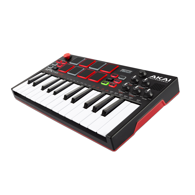 Akai Mpk Mini Play Small MIDI Keyboard Controller Built-in Speaker