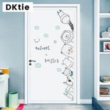 Quarto adesivos de parede porta adesivos de parede do bebê adesivo de parede decoração de casa sala de estar quarto canto adesivo de decoração de casa acessórios
