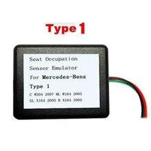 סיאט תפוסה מקצוע חיישן SRS אמולטור עבור M בנץ סוג 1 סוג 2 סוג 3 סוג 4 סוג 6for w204 W211 W104 W230 X164 W171