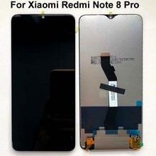 100% الأصلي جديد 6.53 ل شاومي Redmi نوت 8 برو شاشة إل سي دي باللمس قطع غيار للشاشة ل Redmi نوت 8 برو LCD محول الأرقام + أدوات
