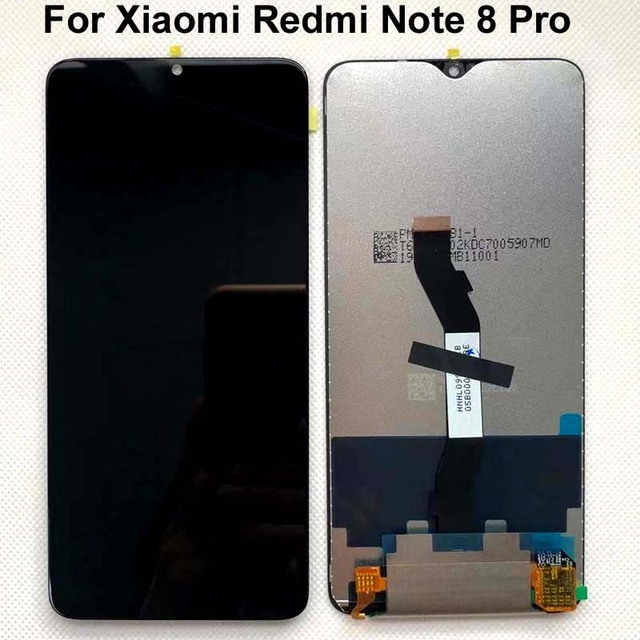 100%Original New 6.53 For Xiaomi Redmi Note 8 Pro LCD Display Touch Screen Replacement For Redmi Note8 Pro LCD Digitizer+tools