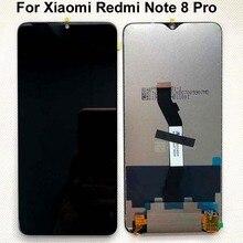 Сменный сенсорный ЖК экран для Xiaomi Redmi Note 8 Pro, 6,53 дюйма, с цифровым преобразователем + Инструменты
