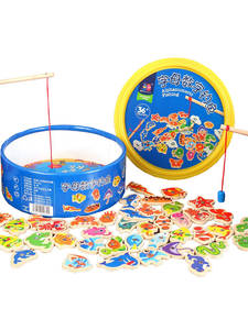 Educational-Toys Fishing-Toy Digital Magnetic Baby Outdoor Children Puzzle-Game New Alphabet