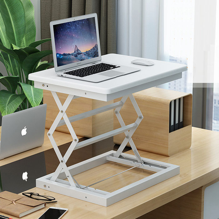 Stand-up Folding Table, Space Lazy, Mobile Desk Bed, Laptop Table, Bedside Table
