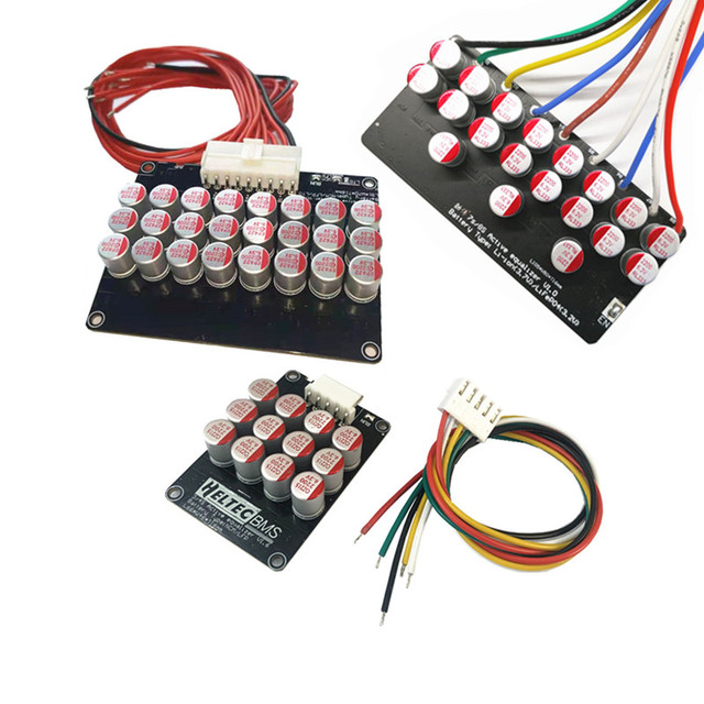 3S 4S 5S 6S 7S 8S 14S 21S 5A Active Equalizer Balancer Lifepo4 Lithium Lipo LTO Battery Energy active equalization Fit Capacitor