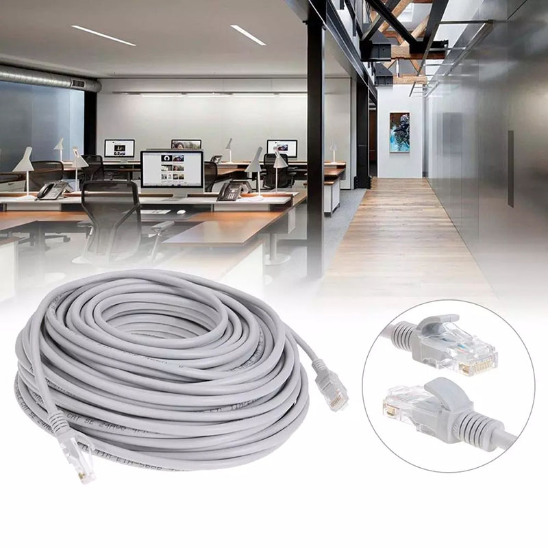 Ethernet Kabel High Speed Cat5e RJ45 Netwerk Lan Kabel Computer Router Computer 1M / 5M / 10M / 15M / 30M / 50M / 100M 5