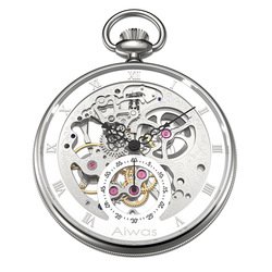 Pocket Watch Necklace Hand Wind Mechanical Top Brand Luxury Hollow Vintage Rome Calibration Gentleman Ladies Men Women Watch
