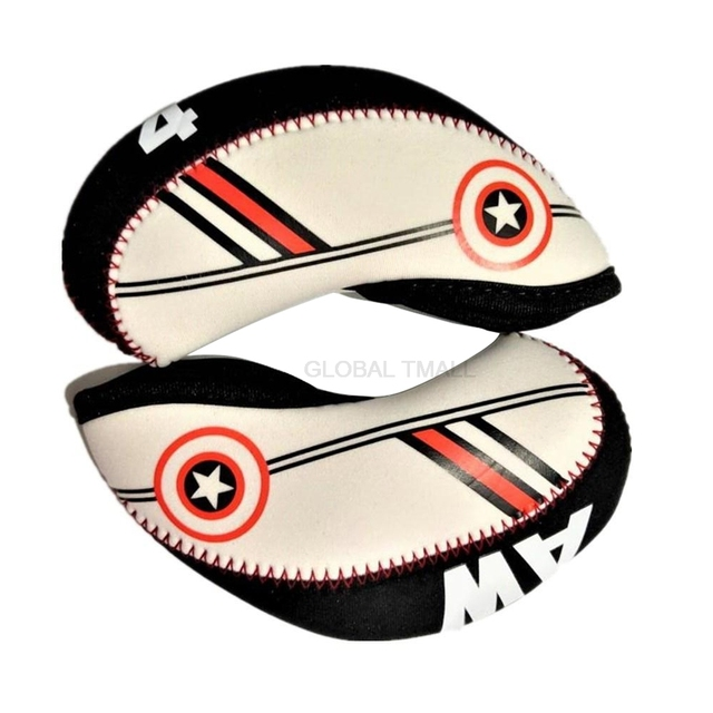 Professional Golf Club Iron Head Cover 10pc/set golf ball games golf Head Protector Accessories 4 5 6 7 8 9 SW 3