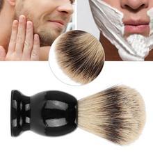Salon-Tool Shaving-Brush Beard Barber Hair Wood-Handle Synthetic-Hair Pure-Badger Soft
