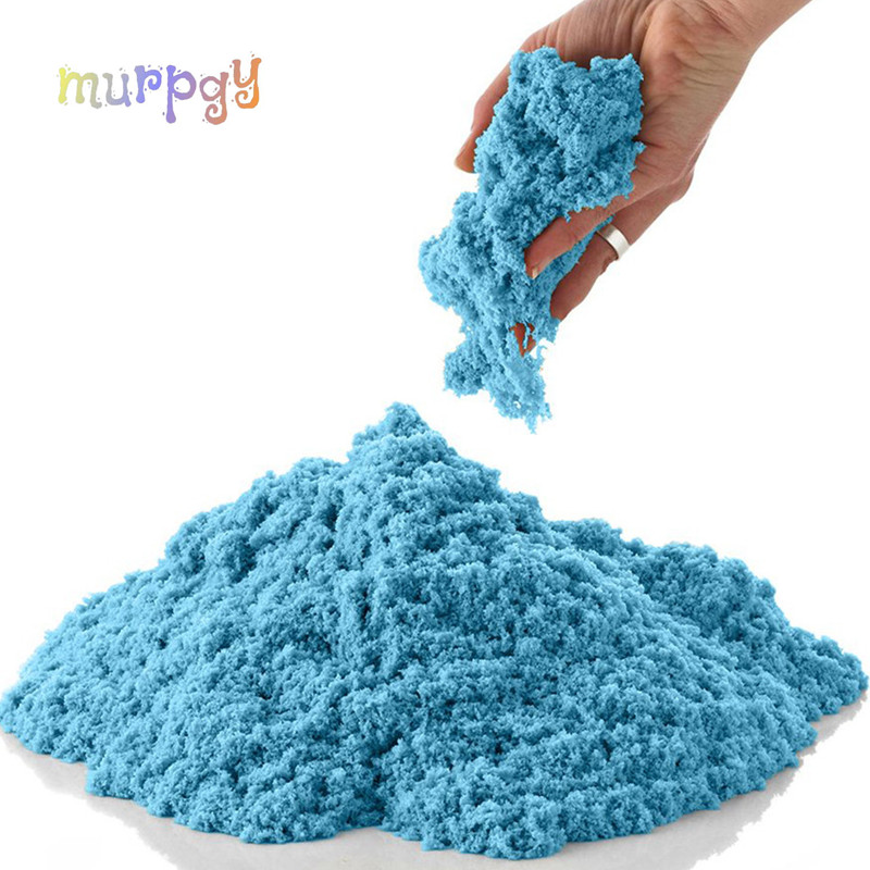 100g Dynamic Sand Toys Educational Colored Soft Magic Slime Space Sand Supplie Indoor Arena Play Sand Kids Toys For Kids
