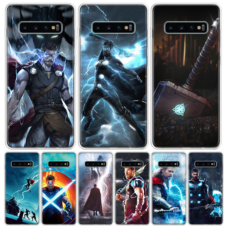 Thor Odinson Hero Cover Phone Case For Samsung Galaxy A51 A71 A50 A10 A20E A30 A40 A70 M30S A01 A21 A6 A7 A8 A9 Plus + Coque