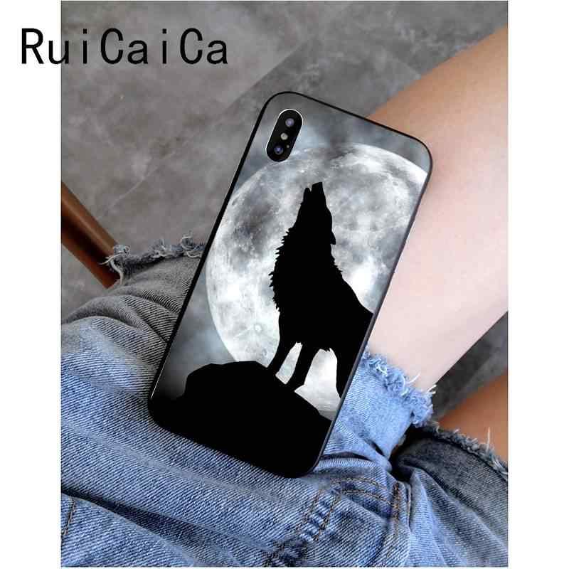 غطاء هاتف من RuiCaiCa لهاتف iPhone 8 7 6 6S Plus X XS MAX 5 5s SE XR غطاء 11 11pro 11promax