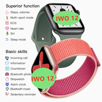IWO 12 Watch series 5 1:1 Men Women Smart Watch 40MM 44MM Bluetooth watch iwo12 for apple iPhone IOS Android Control Siri