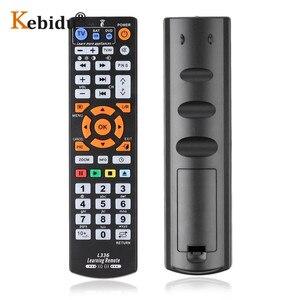 Image 3 - Kebidu עבור L336 IR חכם שלט רחוק בקר עם ללמוד פונקציה עבור SAT DVD cbl אוניברסלי טלוויזיה מרחוק