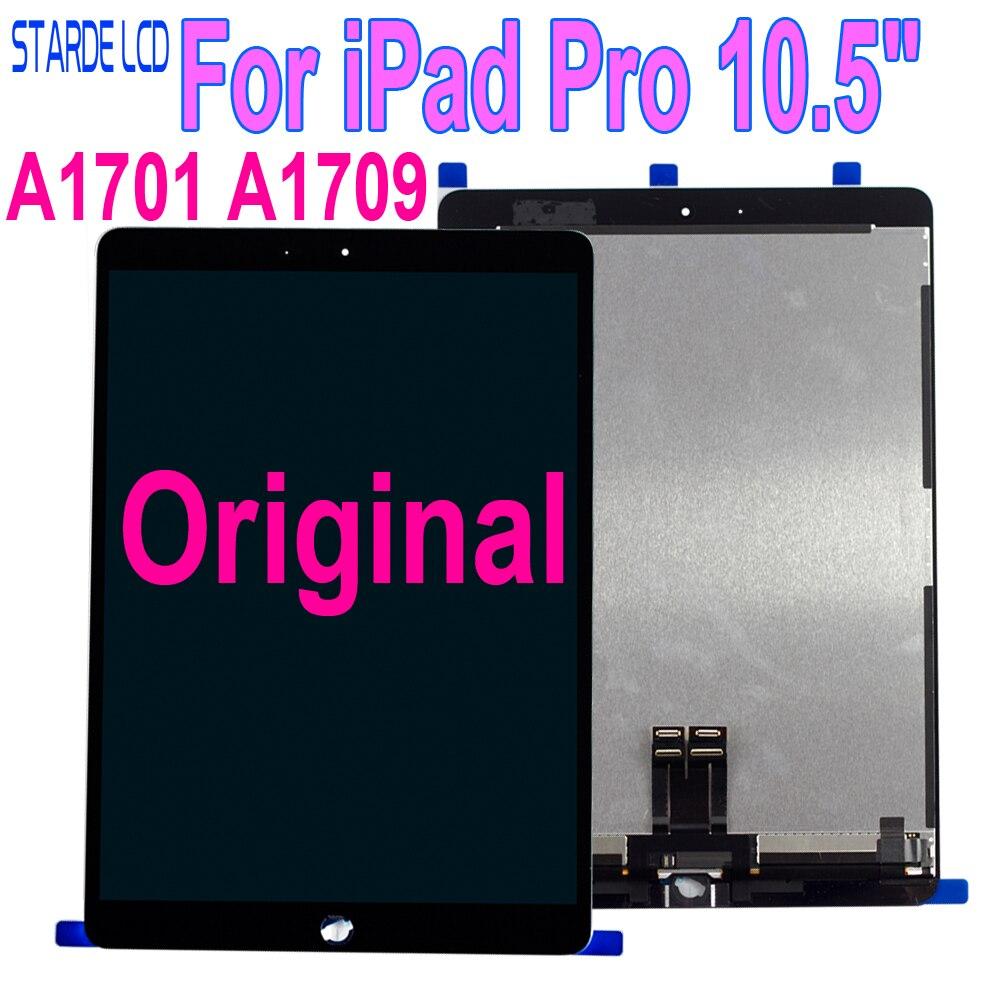 Lcd Original para iPad Pro, pantalla táctil de cristal de 10,5 pulgadas A1701 A1709, digitalizador de montaje completo, reemplazo de tableta