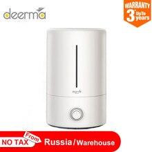 Deerma humidificateur dair de 5l, diffuseur ultrasonique pour aromathérapie, pour le bureau et la maison