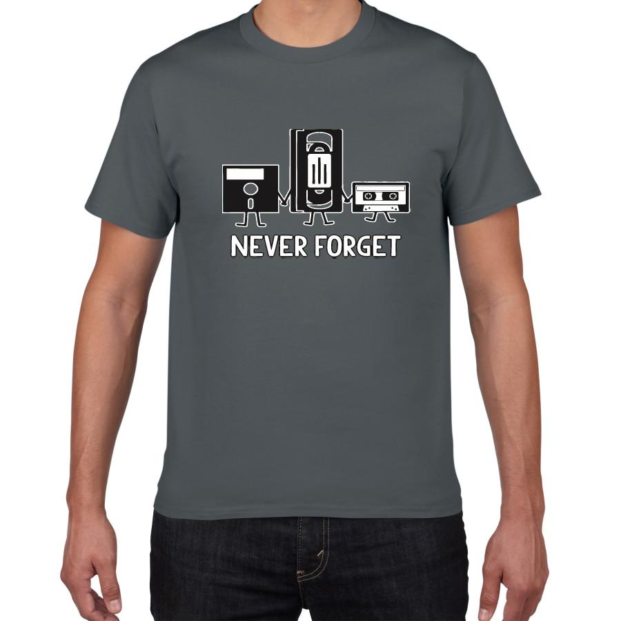 Мужская футболка с надписью Never Forget Sarcastic, повседневная хлопковая футболка с надписью, Новинка|Футболки|   | АлиЭкспресс