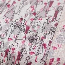 The Cloth  6momme  belt printed chiffon silk 100mulberry silk garment materials summer dress DIY clothes fabrics Freeshipping