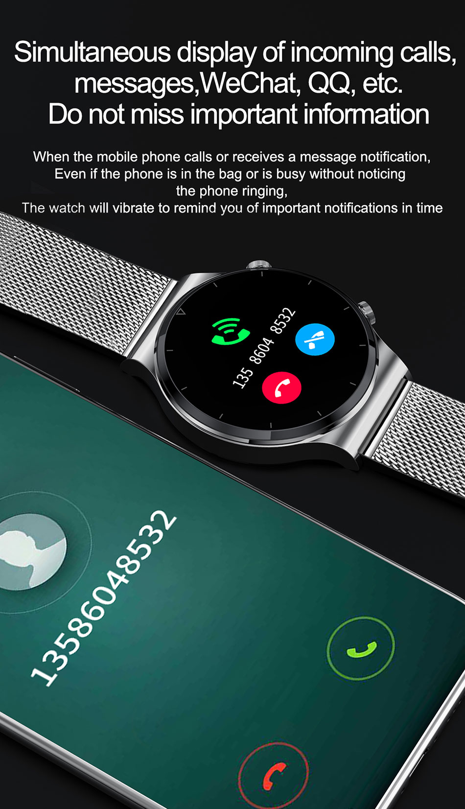Hbb381a5360f34267835b662aa6847f32D LIGE 2021 New Smart watch Men IP68 waterproof watch Multiple sports modes heart rate weather Forecast Bluetooth Men Smart watch