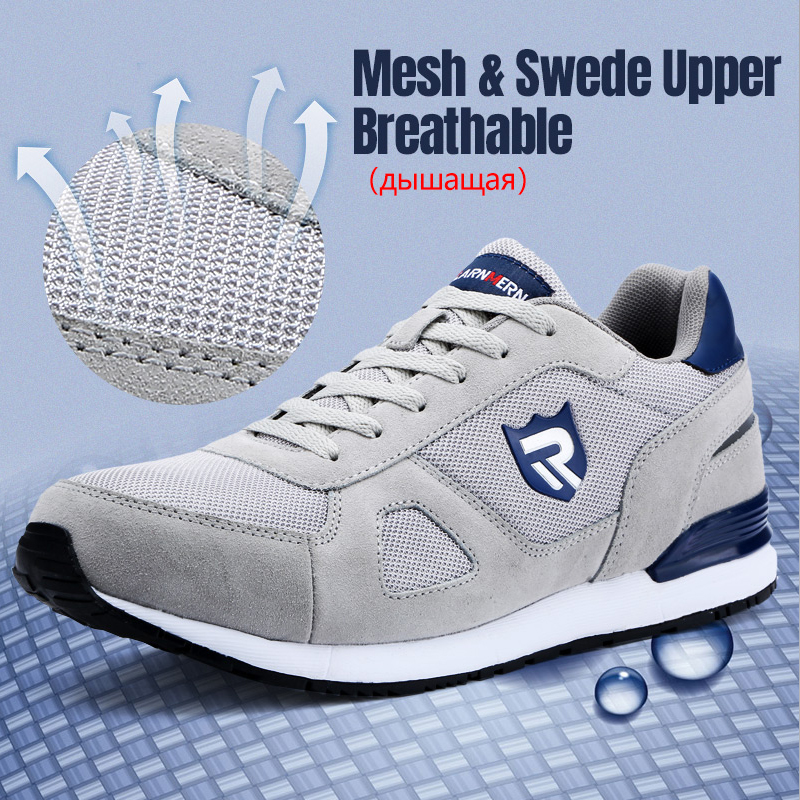 Top SaleLARNMERN Safety-Shoes Sneaker Work Toe-Construction Lightweight Steel Anti-Static Breathable