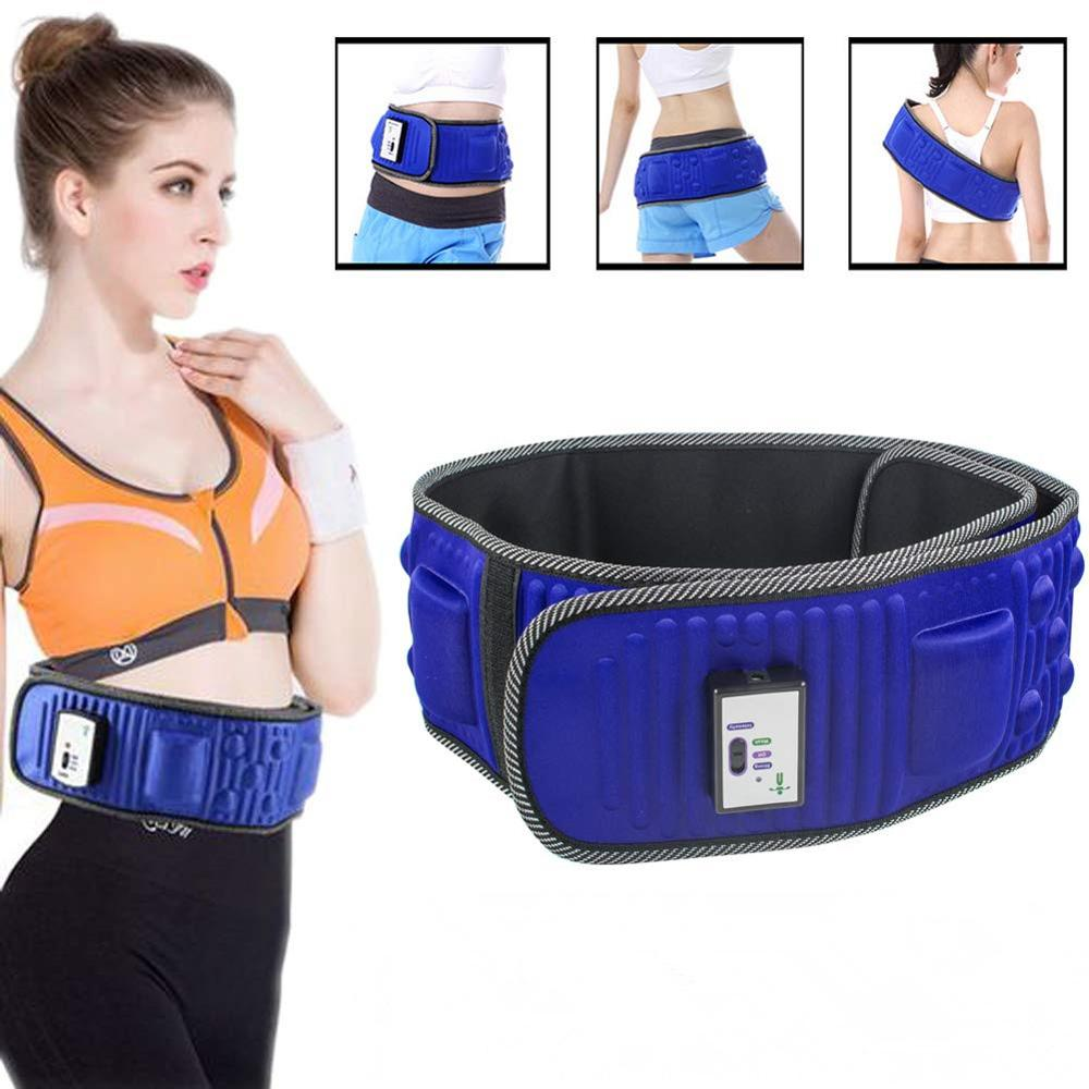 New Electric Vibrating Slimming Belt Fitness Massager Slimming Machine Lose Weight Fat Burning Abdominal Muscle Waist Trainer