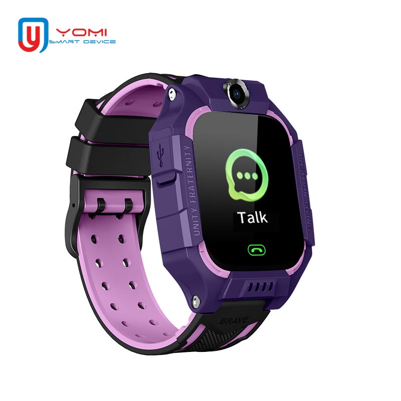 Children's Watch Android IOS Smart Watch SIM Waterproof Two-way Call SOS Camera Anti-lost Smart Clock Boy Girls Wristwatch