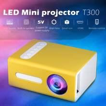 Rondaful t300 светодиодный мини проектор 320x240 пикселей Поддержка