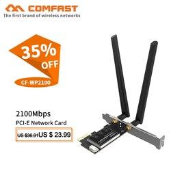 Dwuzakresowy 2.4 + 5GHZ 2100 mb/s Bluetooth 5.0 NGFF M.2 WLAN karta bezprzewodowa Wifi moduł PK Intel 9260NGW gigabitowa karta Wifi CF-WP2100