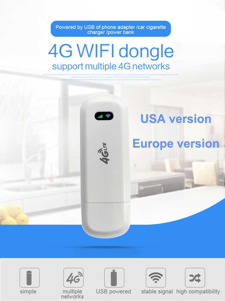 LDW922 3G 4G WiFi Router 4G dongle Mobile Portable Wireless LTE USB modem dongle nano SIM Card Slot pocket hotspot