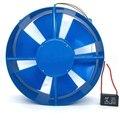 200FZY2-D одинарный фланец AC220V 65 Вт осевой вентилятор потока вентилятор электрическая коробка охлаждающий вентилятор направление ветра регули...