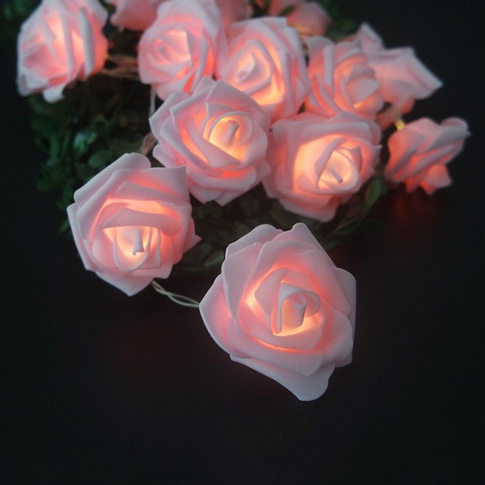 luz led para a decoração do evento
