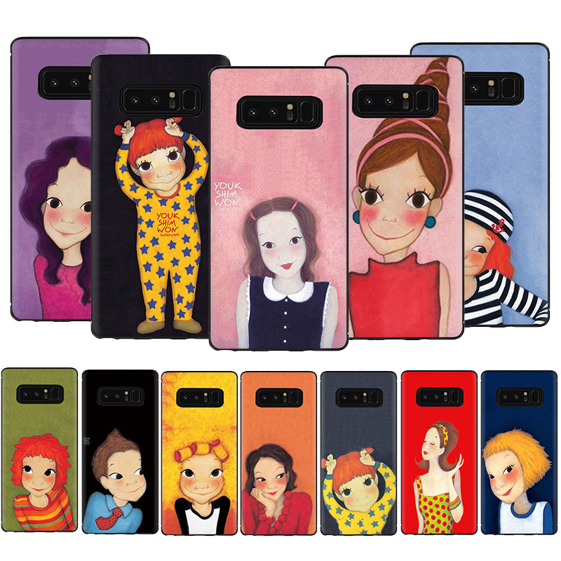 YOUK SHIM WON For Samsung Galaxy A5 A6 7 8 9 <font><b>2018</b></font> A10S 20S 30S 40S 50S 60 <font><b>70</b></font> J6 Silicone Soft TPU Case Cover image