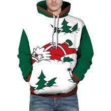 WENYUJH 2019 Christmas Hoody Men New Fashion hoodies Male Femal Pullovers Animal Print Cute Casual Sweatshirts hoody Tracksuits
