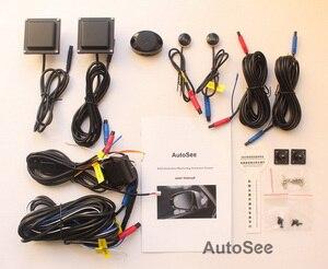 Image 5 - 자동차 픽업 BSD BSM 블라인드 스폿 감지 시스템 24GHZ 마이크로 웨이브 레이더 센서 BSA 자동 모니터링 미러 라이트 알람