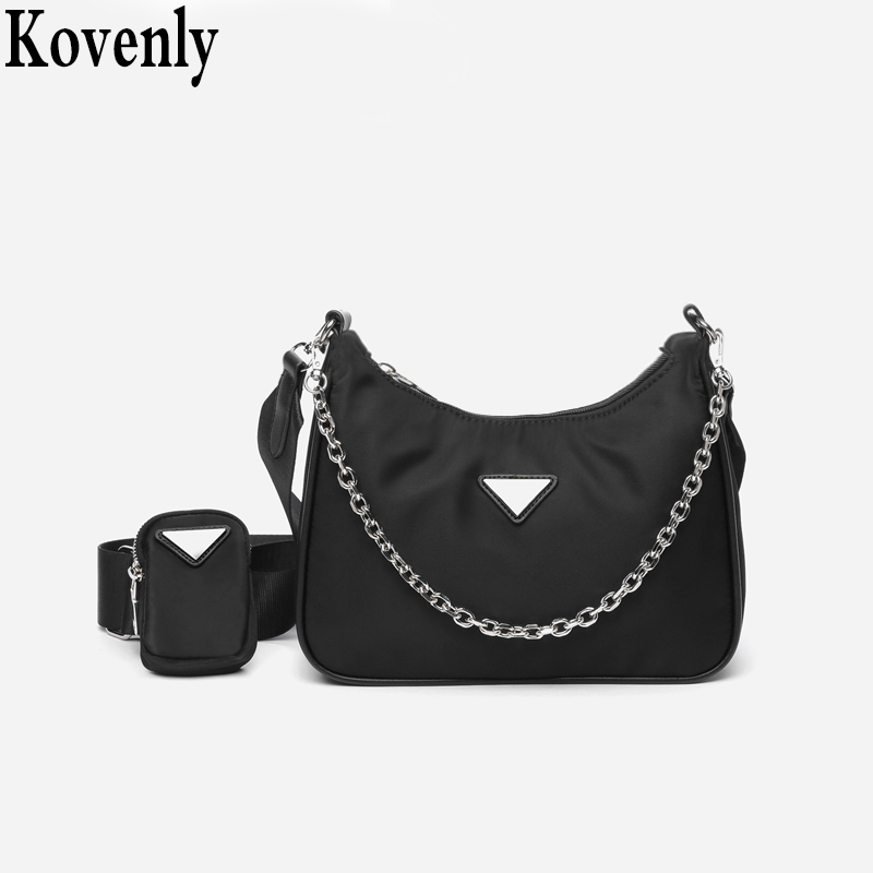 Causal Luxury Handbags Women Bags Designer With Mini Pocket Women Crossbody Bag Luxury Brand Female Shoulder Messenger Bag