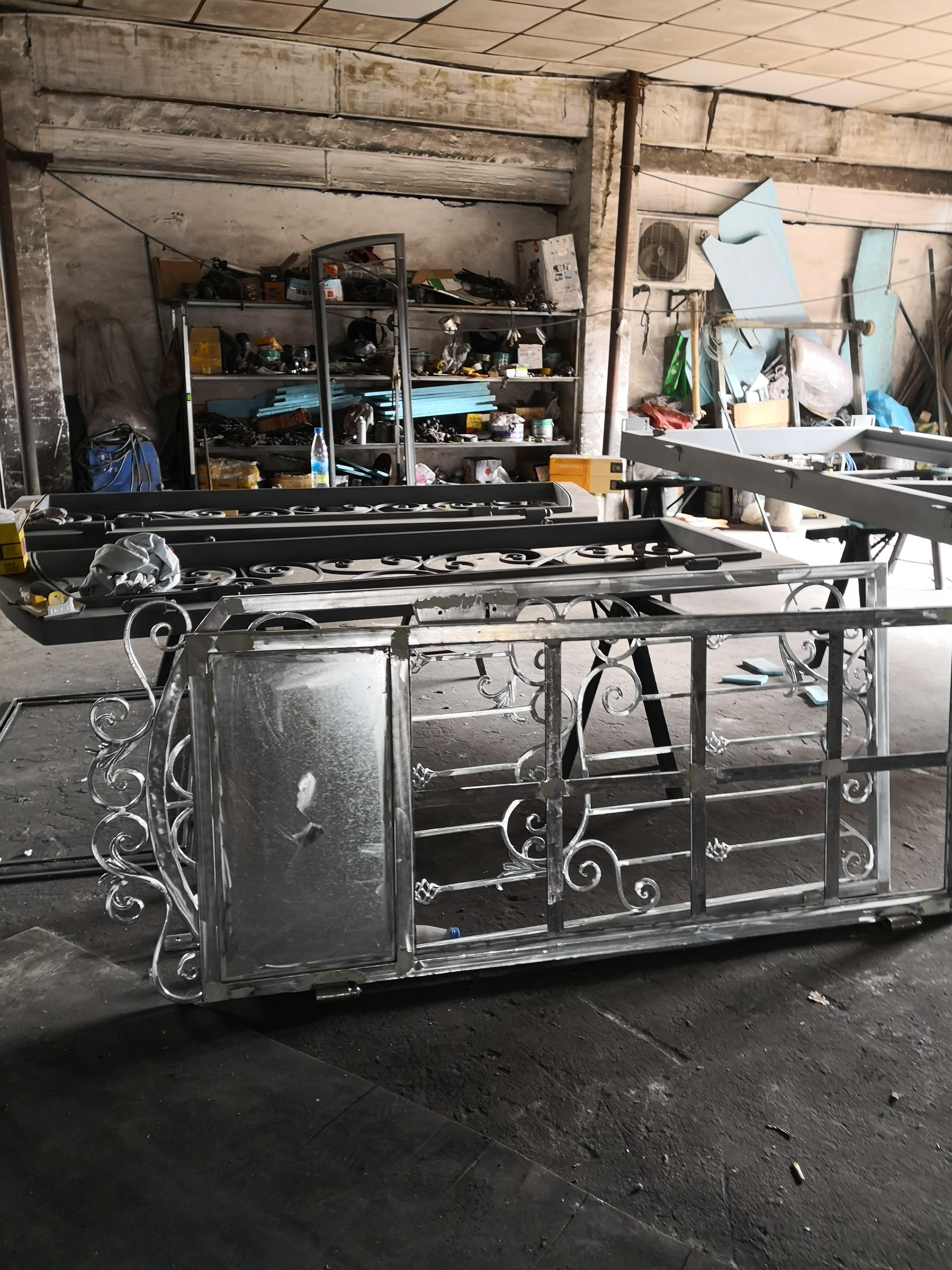 Hench 100% Steel Iron Doors  Model Hc-id102